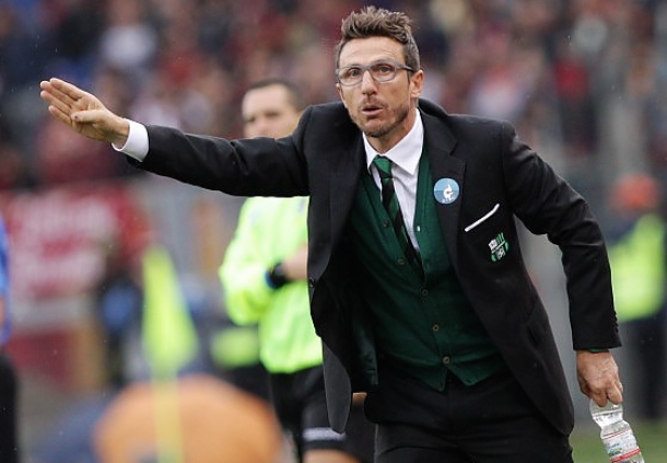 """Sassuolo, Di Francesco: """"Vogliamo vincere"""""""