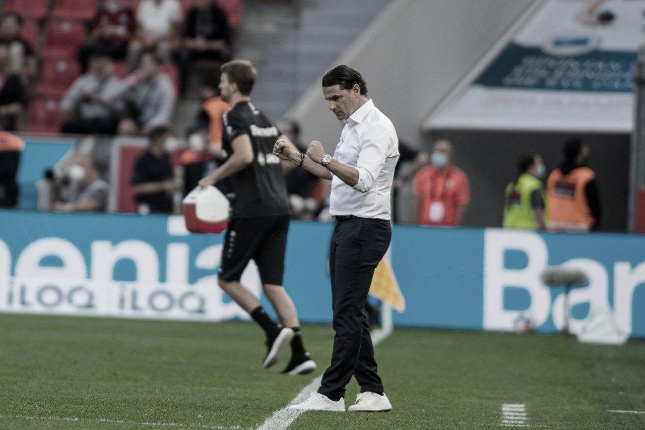 """Técnico do Leverkusen, Gerardo Seoane destaca dificuldade para vencer Mainz: """"Jogo difícil"""""""
