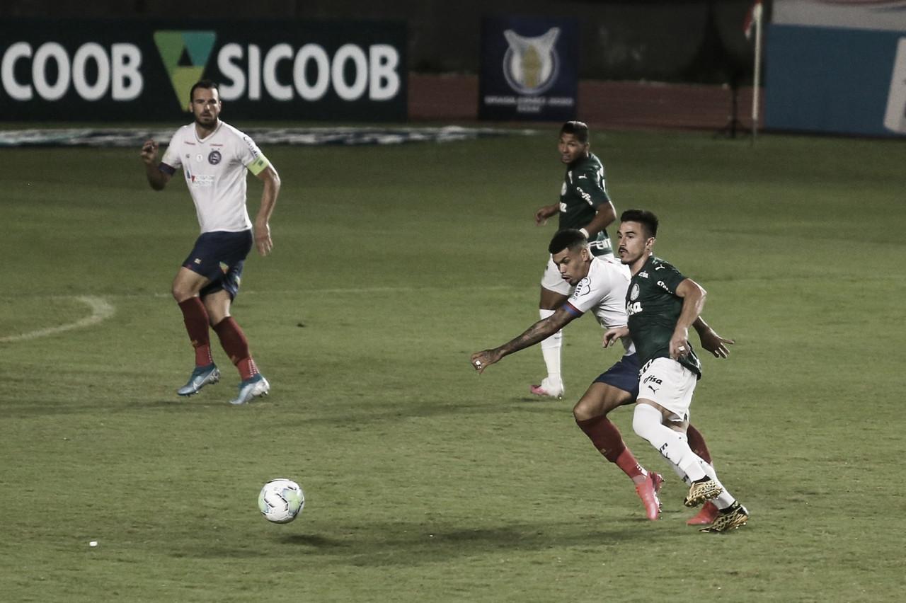 Weverton falha e reservas brilham no empate entre Bahia e Palmeiras