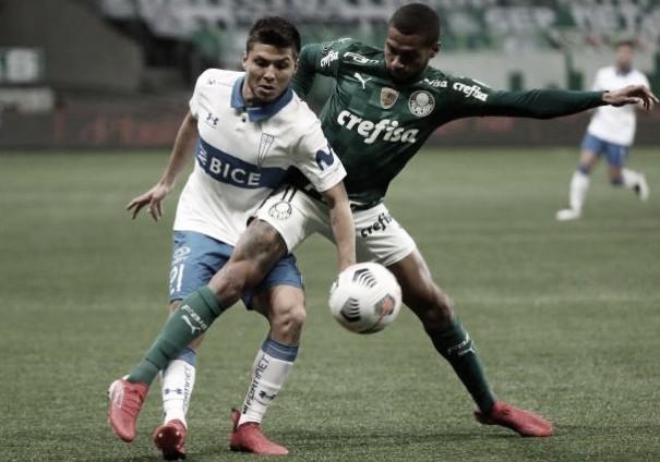 Palmeiras repete placar do jogo de ida e despacha Universidad Católica na Libertadores