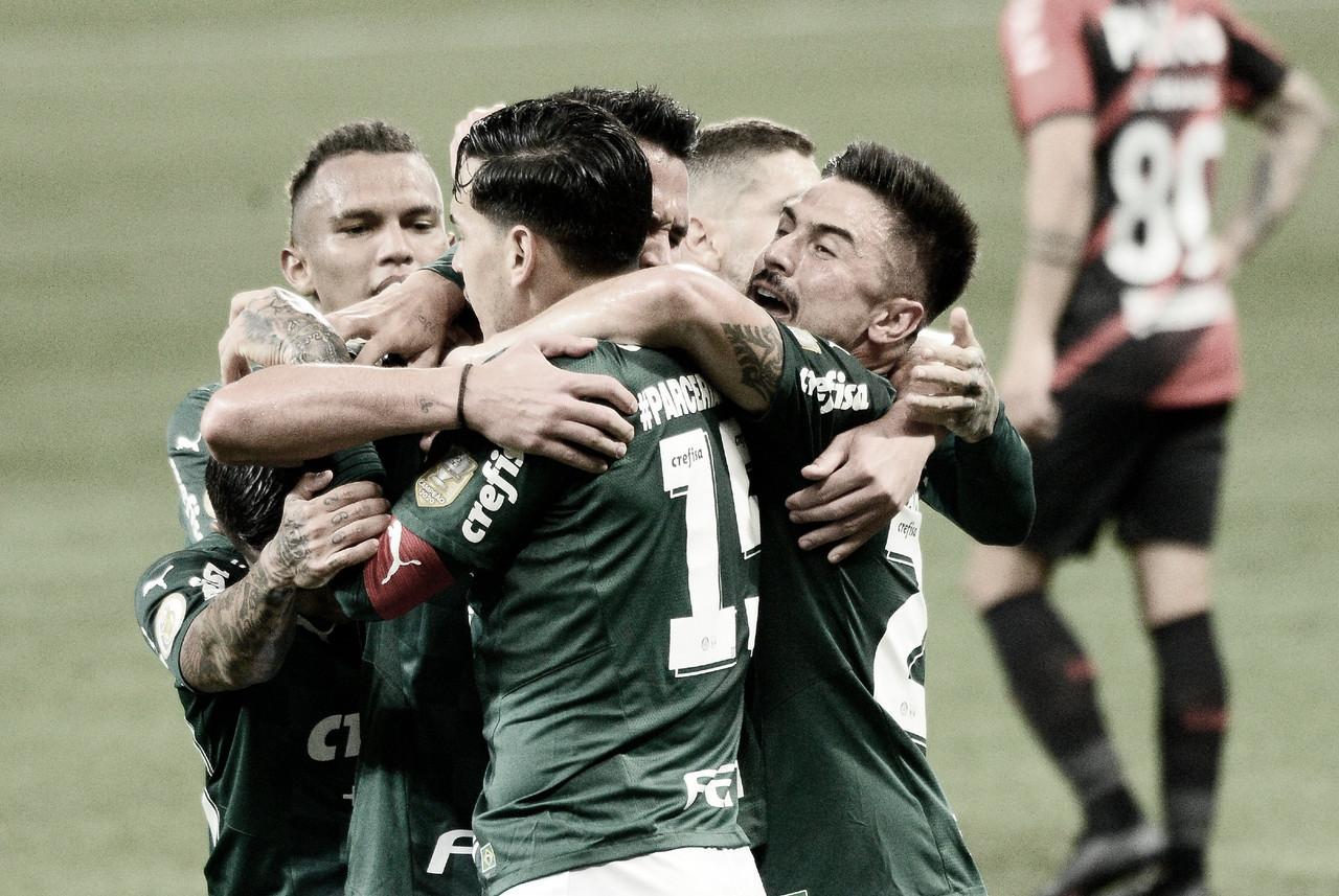 Palmeiras encerra sequência ruim no Brasileirão com vitória sobre Athletico