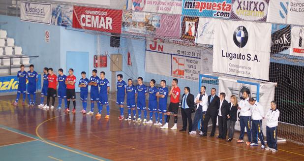 El Azkar se presentó con empate ante el Burela FS