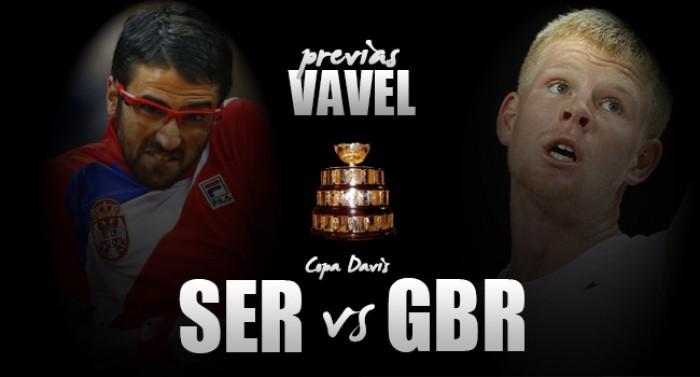 Copa Davis 2016. Serbia vs Gran Bretaña: choques sin estrellas