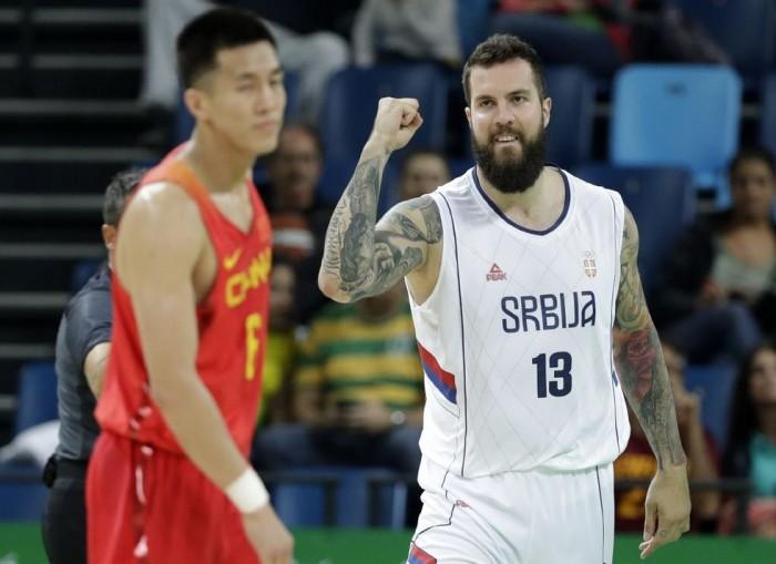 Rio 2016, Basket - Tutto facile per la Serbia, Cina ancora al tappeto (94-60)