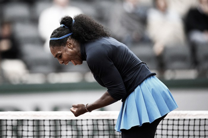 Serena Williams frustra Bertens e vai à final de Roland Garros
