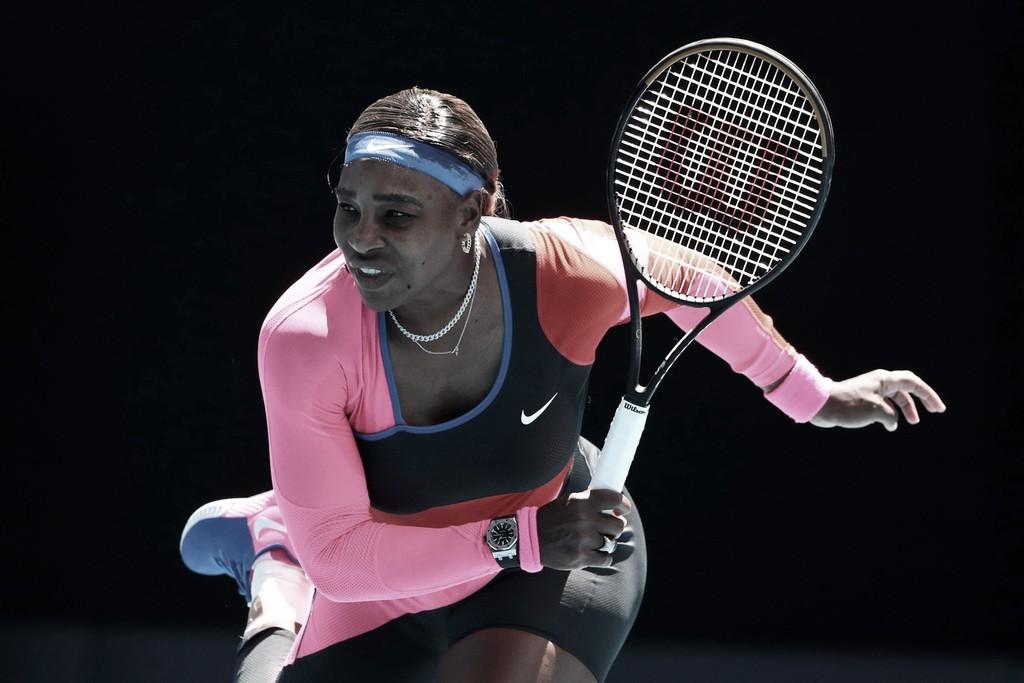 Serena supera primeiro set complicado e bate Potapova no Australian Open