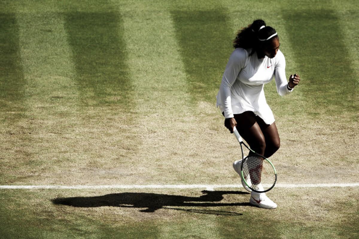 Serena impone su ley ante una combativa Giorgi