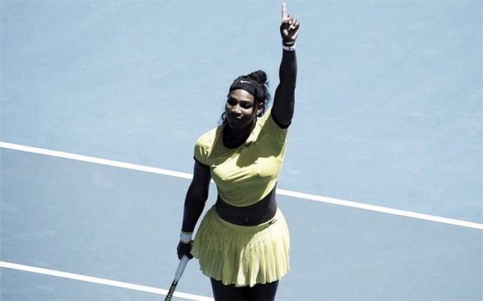 Serena no se despista