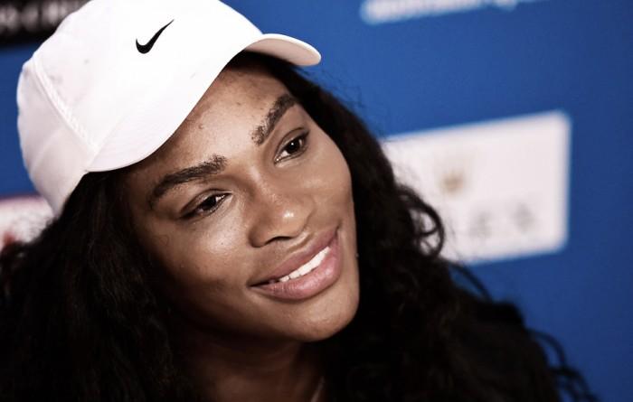 """Serena Williams: """"Mi rodilla está bien, estoy entrenando al 120%"""""""