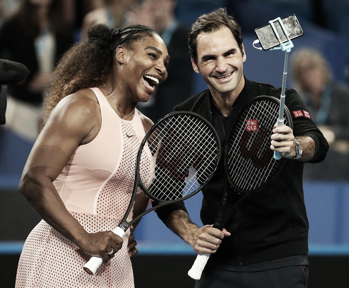 Suíça vence EUA no aguardado confronto entre Federer e Serena na Hopman Cup
