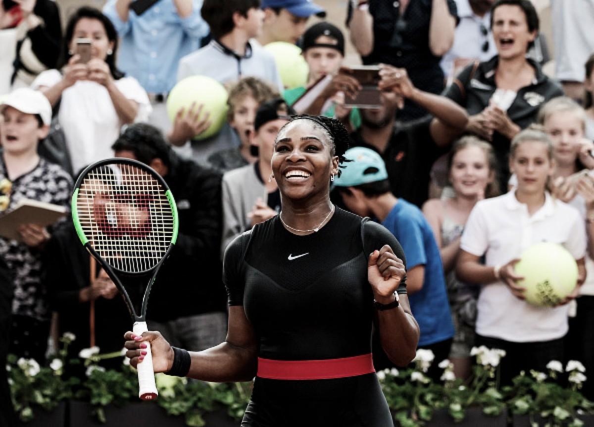 Anote na sua agenda: Serena passa por Goerges e enfrenta Sharapova nas oitavas de Roland Garros
