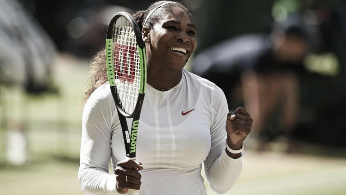 Serena y Kerber a la final sin complicaciones