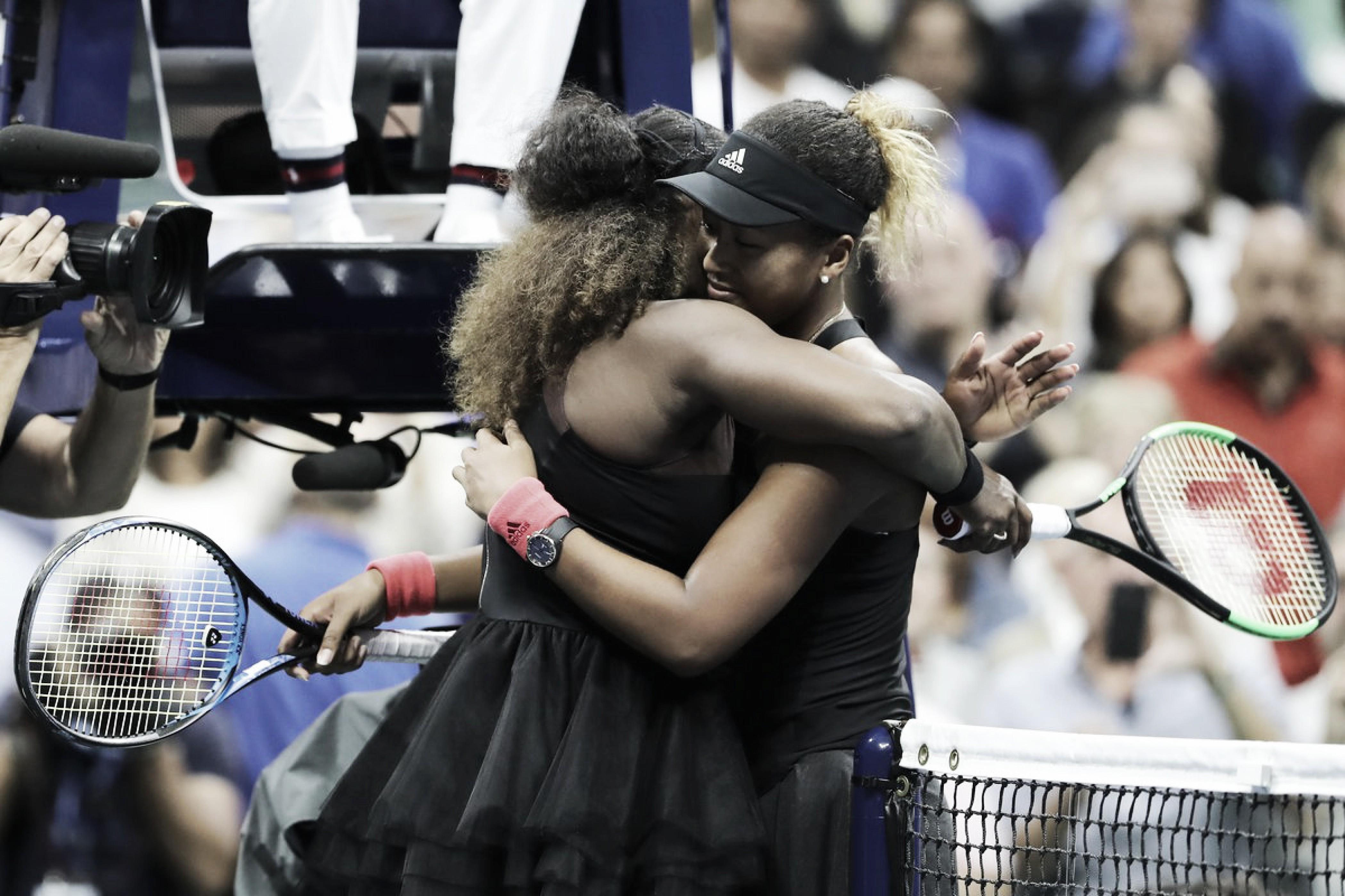 "Serena enaltece Osaka pelo título do US Open, mas repudia punição do árbitro: ""Foi algo sexista"""