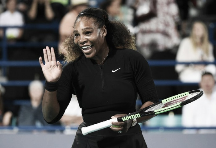 Mubadala World Tennis Championship: Serena Williams puts up encouraging performance, but falls to Jelena Ostapenko in comeback match