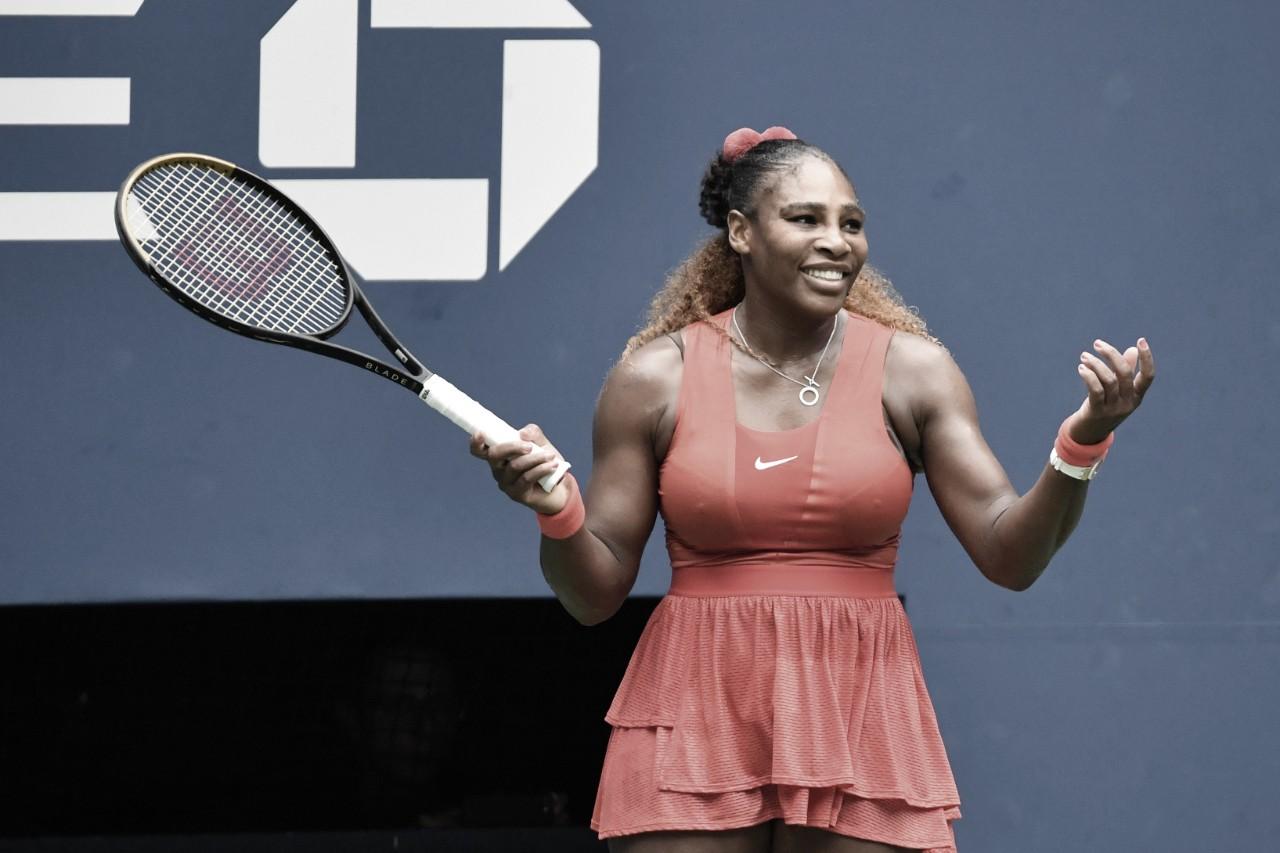 Em duelo de mamães, Serena vira contra Pironkova e está nas semis do US Open