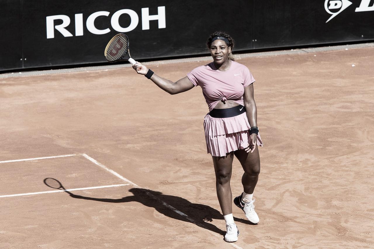 Em sua milésima partida na carreira, Serena perde na estreia em Roma para Podoroska