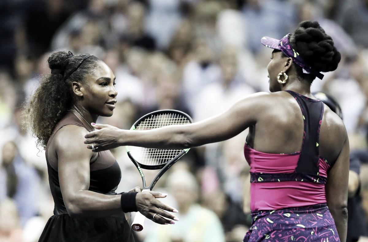"""Serena destaca emoção após mais um jogo contra Venus: """"Sempre foi minha inspiração"""""""