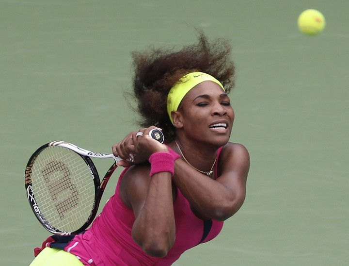 US Open: tocada por una varita