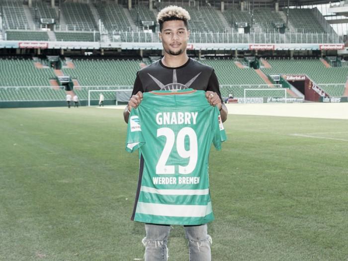 Destaque nos Jogos Olímpicos, Serge Gnabry é o novo reforço do Werder Bremen
