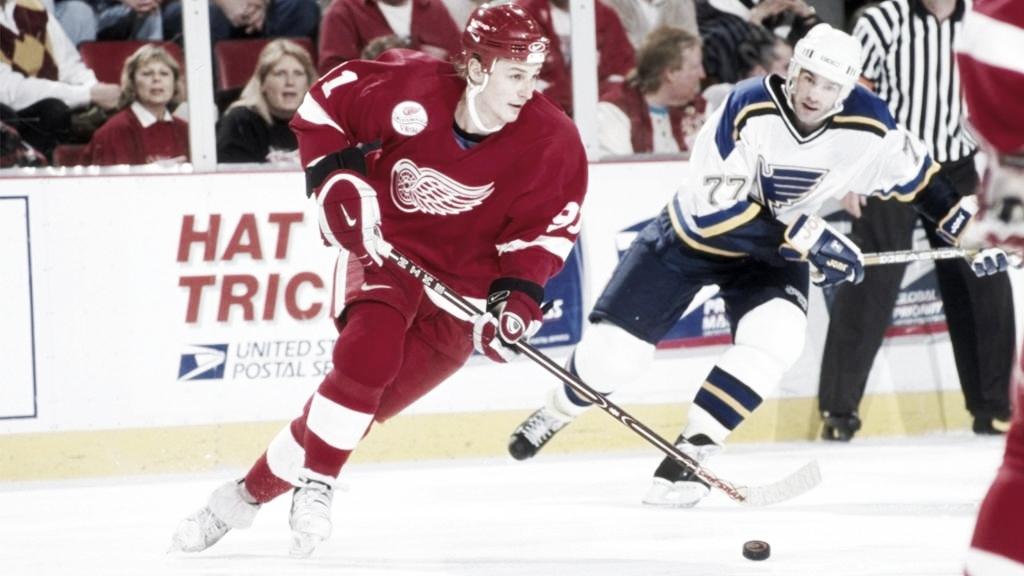 Jugadores legendarios de la NHL: Sergei Fedorov