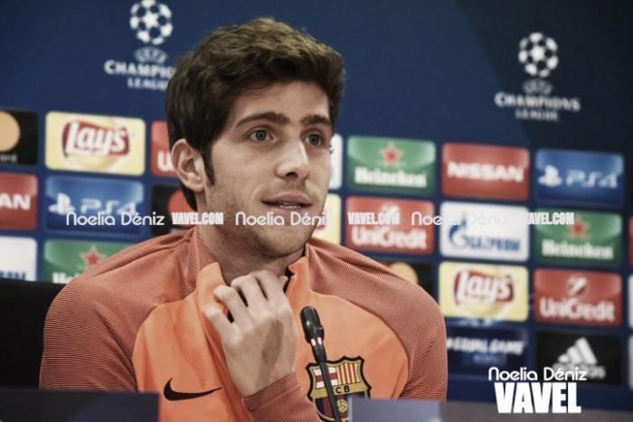 "Sergi Roberto: ""Cada año queremos ser mejores"""