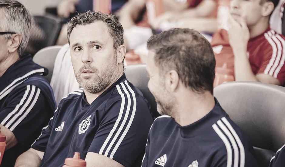 """Sergio González: """"Para ser el primer partido hay que estar muy contentos"""""""
