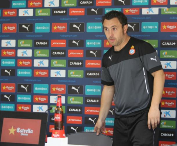 """Sergio González: ''El punto ante el Almería sabe a gloria"""""""