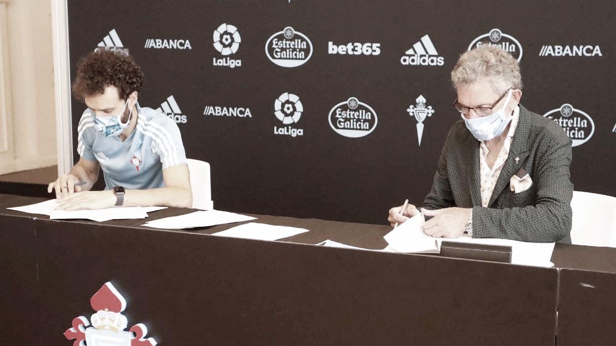 Sergio Álvarez renueva con el Celta