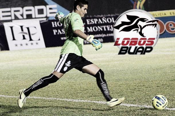 Sergio Arias nuevo arquero de Lobos BUAP