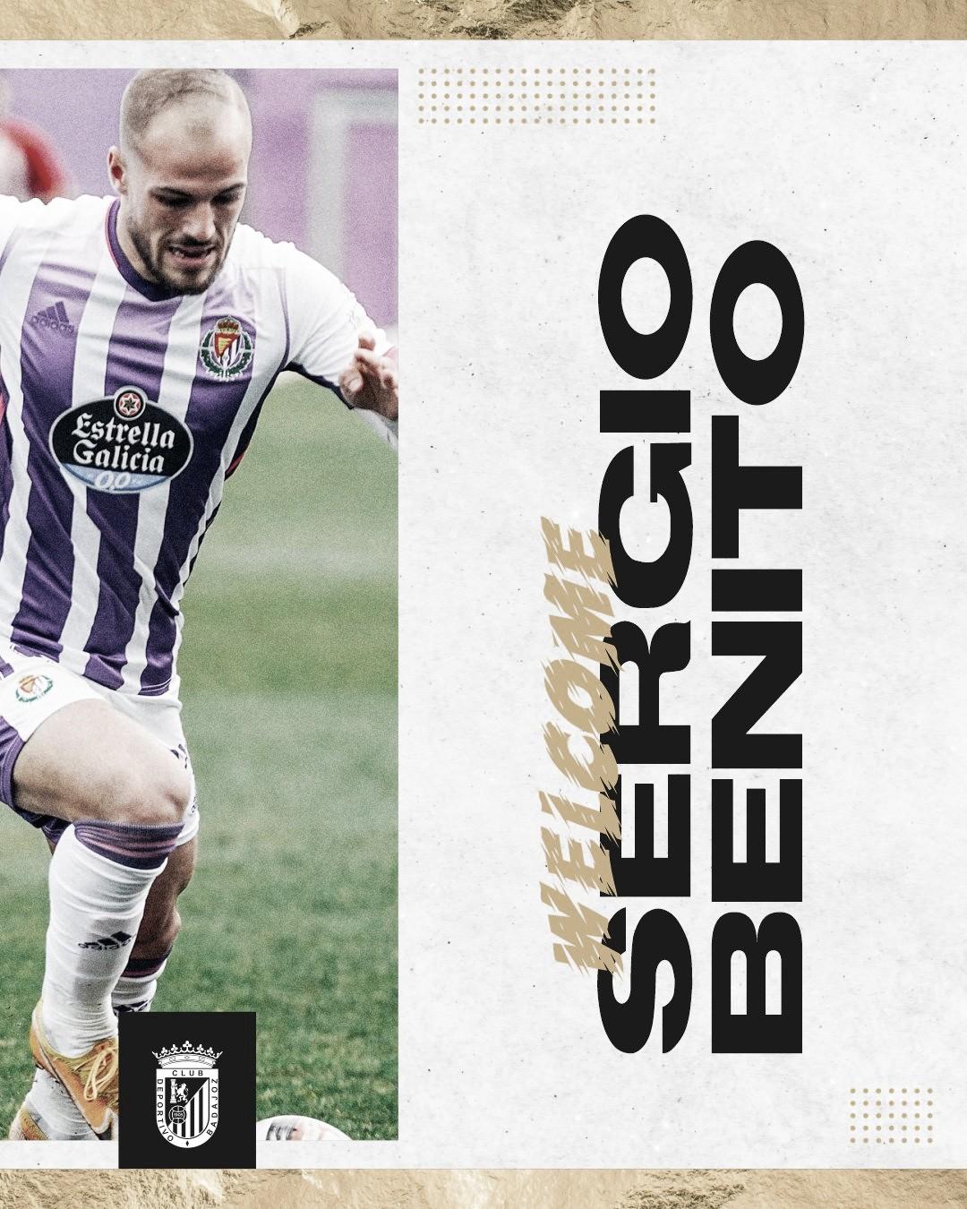 Sergio Benito, juventud, gol y experiencia para el ataque del CD Badajoz