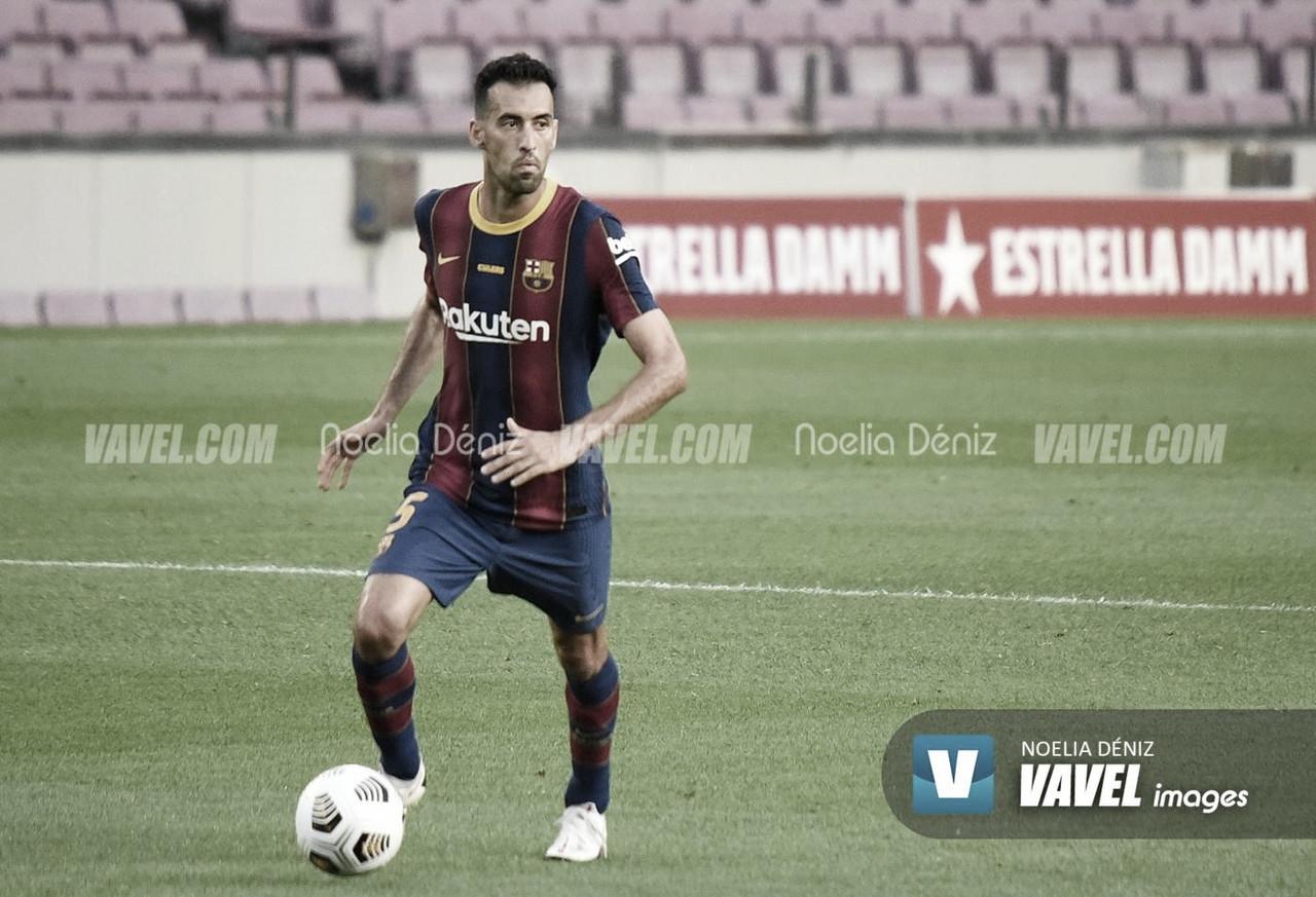Sergio Busquets roza los 600 partidos con el Fútbol Club Barcelona