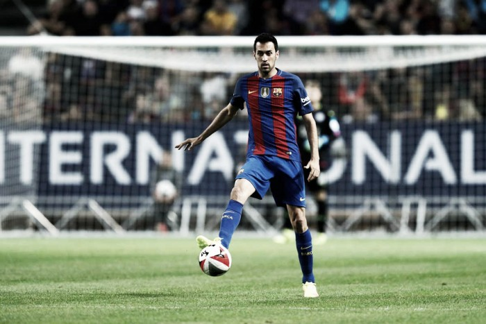 Juve-Barça, Busquets torna in soccorso alla difesa blaugrana