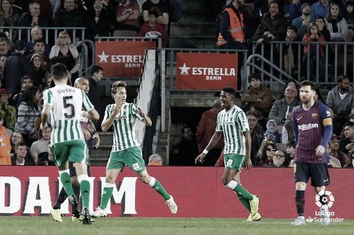 """Sergio Canales, sobre el Barcelona: """"Hay que creer en ello"""""""
