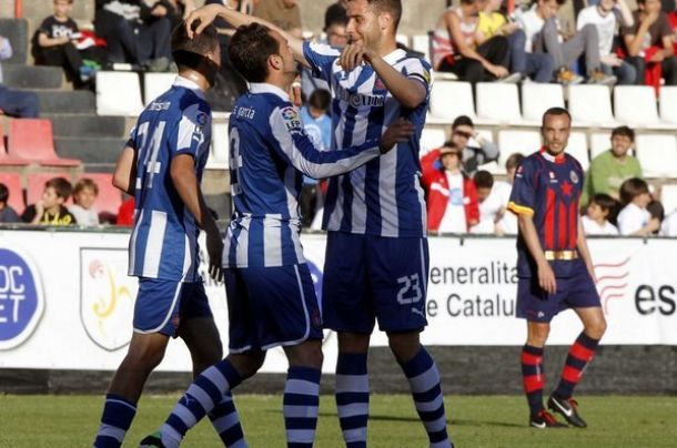 UE Llagostera – Espanyol: a seguir en la buena línea