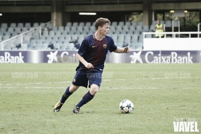 """Sergio Gómez: """"Estoy muy contento por el debut"""""""