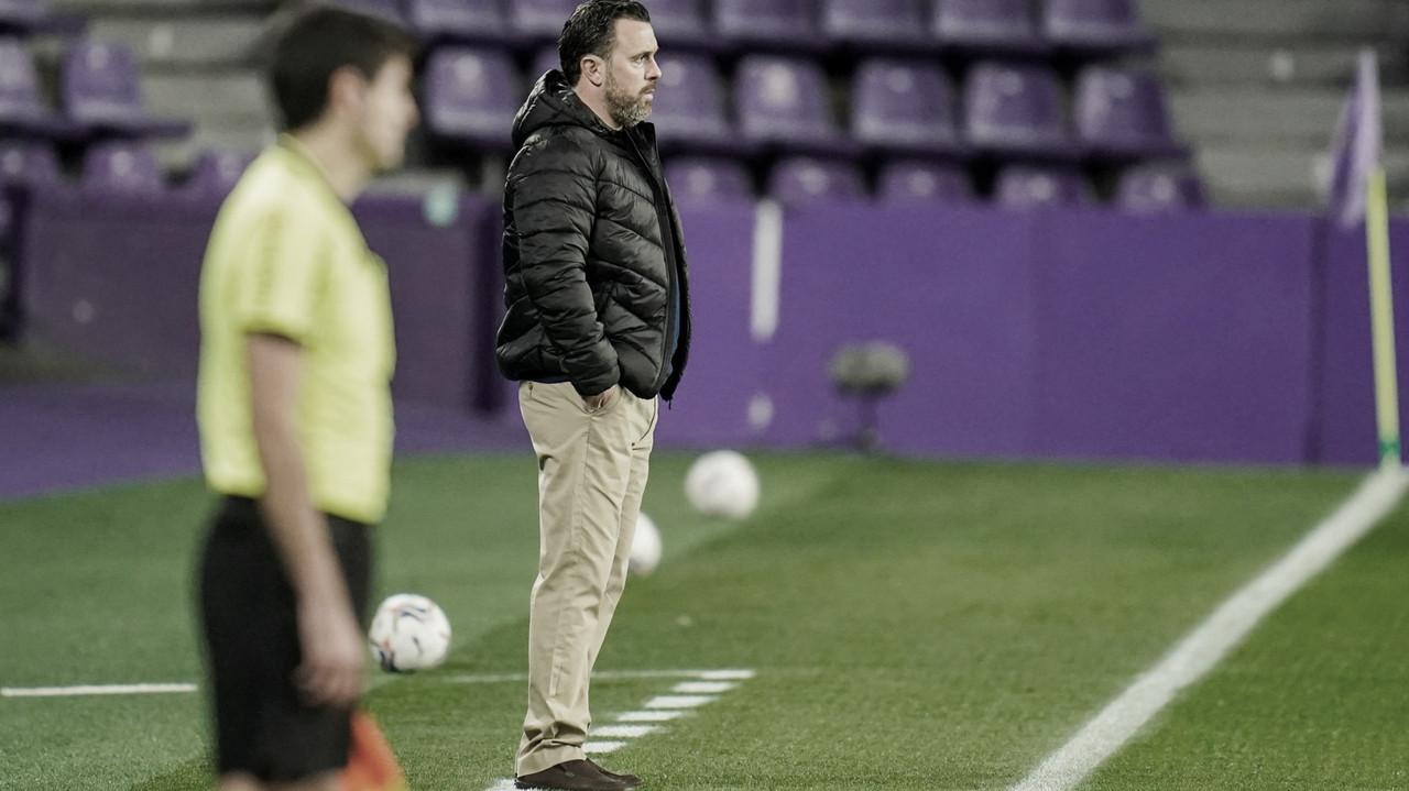 Sergio González en el José Zorrilla// FOTO: RealValladolid.es