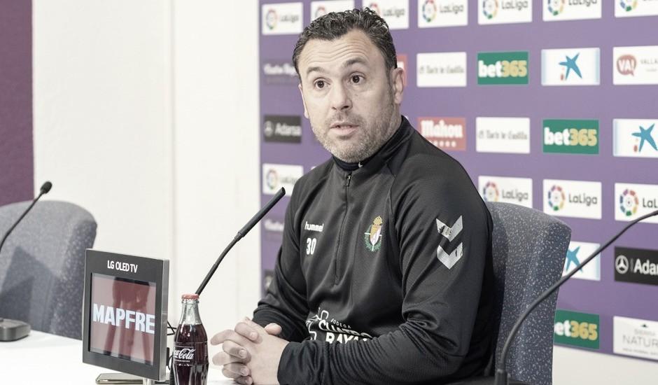 """Sergio González: """"Tenemos que encarar el partido con total garantía de hacerlo bien"""""""