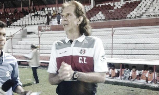 """Mesmo com série de empates, Sérgio Guedes mantém esperança e afirma: """"Não vamos baixar a guarda"""""""