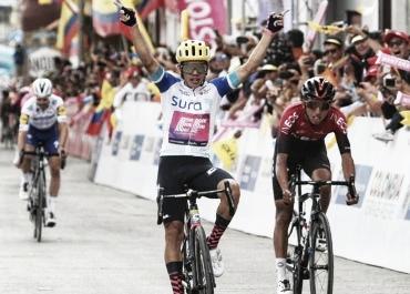 Higuita gana en Santa Rosa y es nuevo líder del Tour