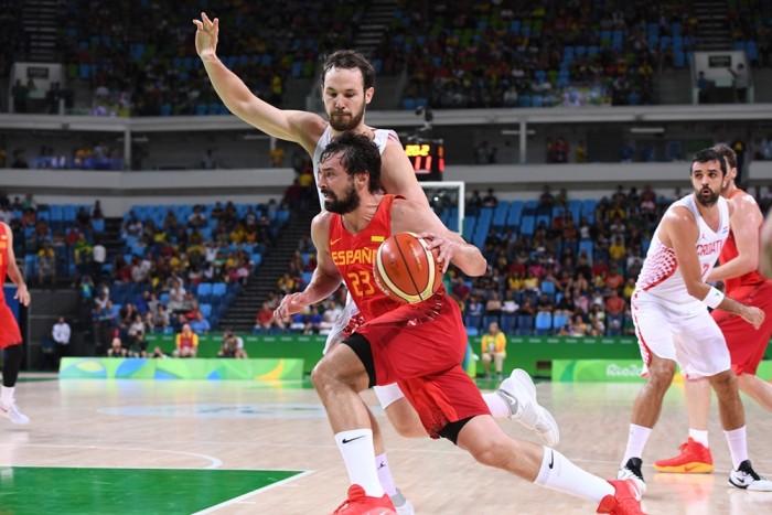Em grande jogo, Croácia supera Espanha com toco de Saric em Gasol no último lance