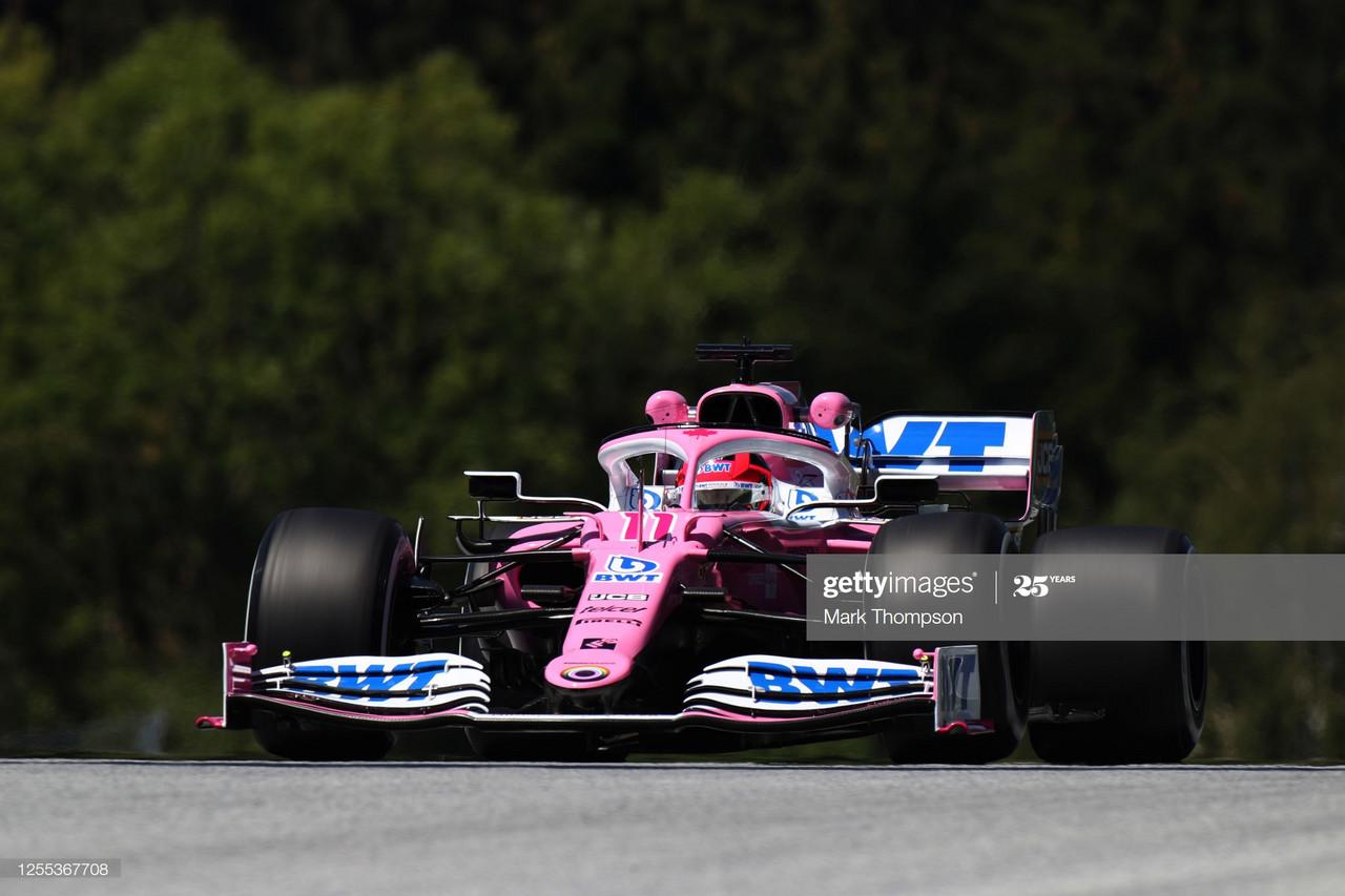 Sergio Perez tops FP1 at first back-to-back event