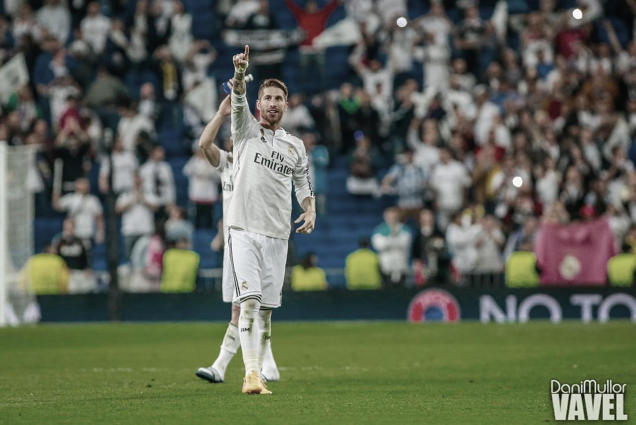 Ramos iguala a Koeman como el defensa con más goles en la historia de los Cásicos