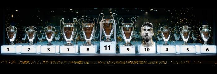 Sergio Ramos, un calendario de instantes eternos