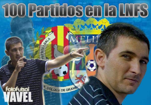 Sergio Mullor, un centenar de partidos en la LNFS