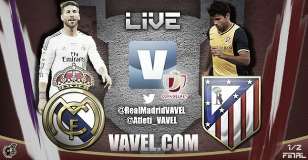 Real Madrid vs Atlético de Madrid, Copa del Rey en vivo y directo
