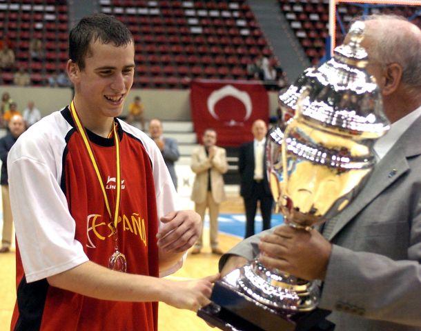 2004: España campeona de Europa júnior