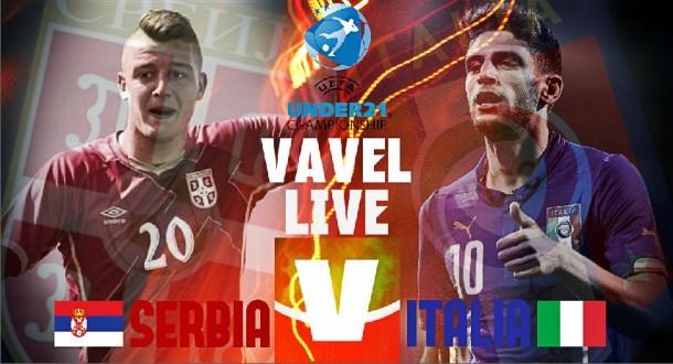 Risultato Serbia U21 - Italia U21, qualificazioni Euro 2017 (1-1): a Milinkovic-Savic risponde Cataldi
