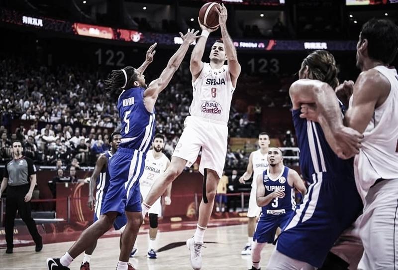Sérvia atropela Filipinas e garante vaga na próxima fase da Copa do Mundo de Basquete