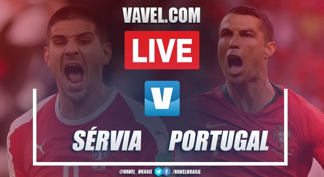 Gols e melhores momentos Sérvia 2x4 Portugal pelasEliminatórias da Eurocopa