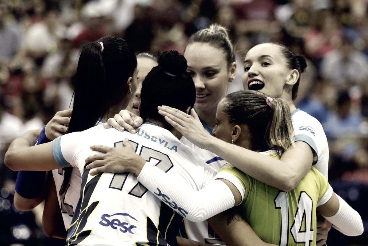 Rio de Janeiro atropela Minas e avança à final da Superliga Feminina pela 14ª vez seguida